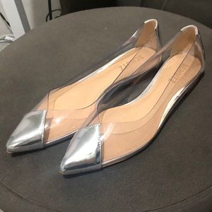 Schutz Clearly Transparent Flats